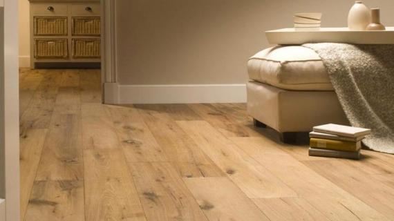 El suelo de madera es tendencia